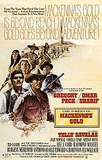 <i>Mackennas Gold</i> 1969 film directed by J. Lee Thompson