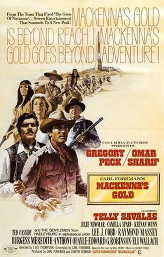 Mackenna's Gold - Theatrical release poster by Howard Terpning