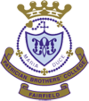 Patrician Brothers' College, Fairfield - Image: Patrician brothers college crest