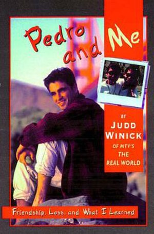 Pedro and Me - Book front cover