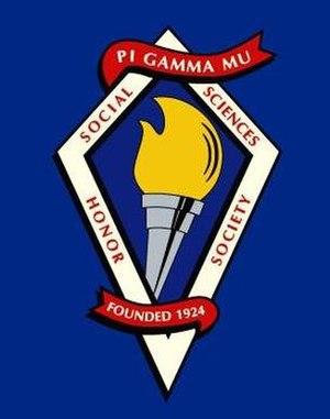 Pi Gamma Mu - Image: Pgmtorch