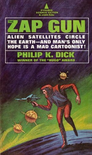 The Zap Gun - First edition cover