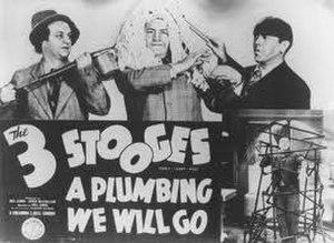 A Plumbing We Will Go - Image: Plumbinglobbycard