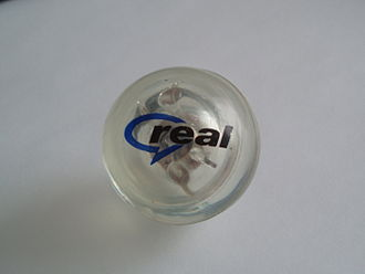 RealNetworks - Promotional merchandise with the RealNetworks logo