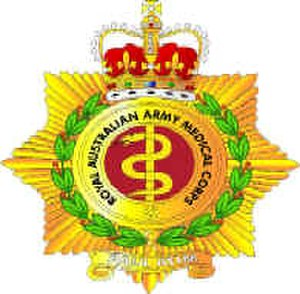 Royal Australian Army Medical Corps - Cap badge of the RAAMC