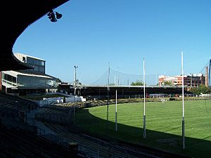 History of the Collingwood Football Club -  Victoria Park, Collingwood's home ground up until 1999