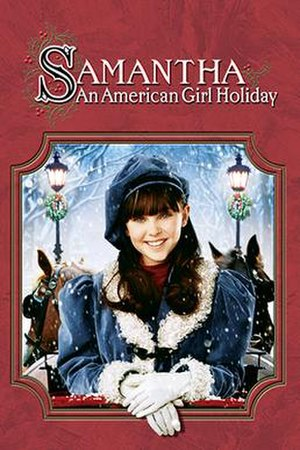 Samantha: An American Girl Holiday - Image: Samantha DVD