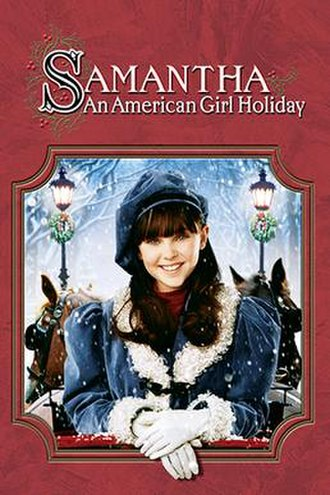 Samantha: An American Girl Holiday - Image: Samantha DVD