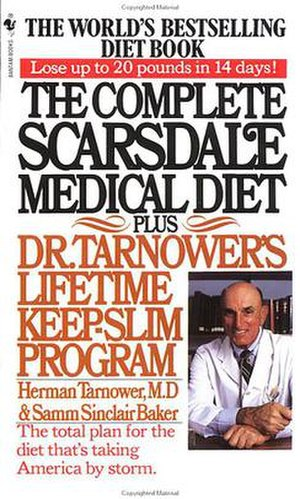 Scarsdale diet - Cover of The Complete Scarsdale Medical Diet