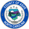 Official seal of Ashe County