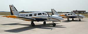 Piper PA-34 Seneca - Two examples of Seneca V