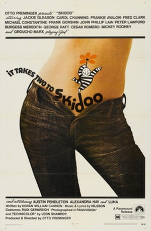 Skidoo (film) - theatrical release poster