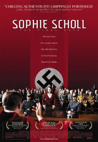 Sophie Scholl – The Final Days - Theatrical poster