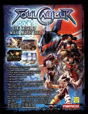 Soulcalibur II - Image: Soulcalibur II flyer