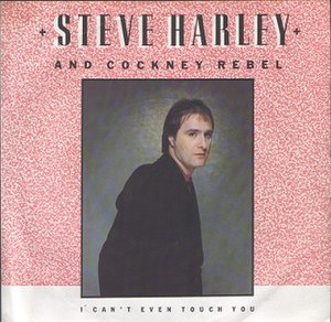 I Can't Even Touch You - Image: Steve Harley & Cockney Rebel I Can't Even Touch You Single 1982