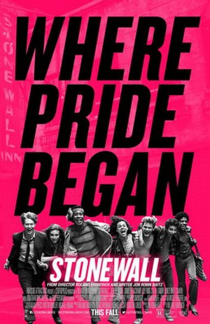 Stonewall (2015 film) - Theatrical release poster