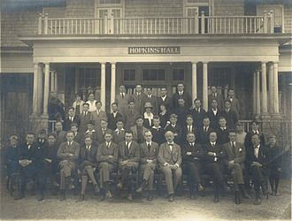 The Stony Brook School - Portrait of The Stony Brook School, Fall 1922