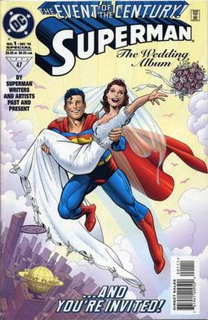 Superman: The Wedding Album - Image: Superman The Wedding Album