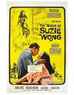 The World of Suzie Wong (film) - Original poster