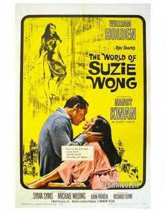 The World of Suzie Wong (film) - Original poster
