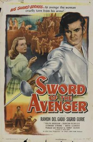 Sword of the Avenger - Theatrical release poster