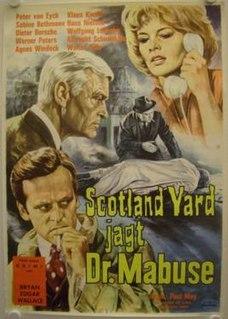 <i>Scotland Yard Hunts Dr. Mabuse</i> 1963 film