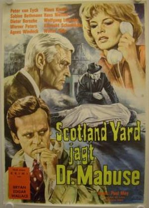 Scotland Yard vs. Dr. Mabuse - Film poster