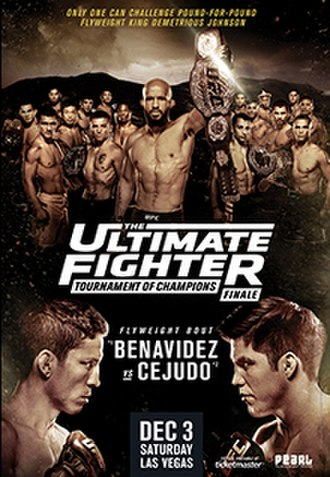 The Ultimate Fighter: Tournament of Champions - Image: TUF 24 Finale