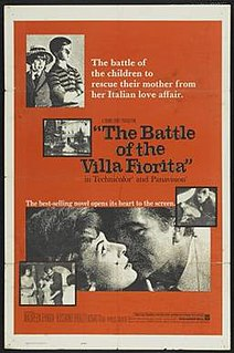 <i>The Battle of the Villa Fiorita</i> 1965 film by Delmer Daves