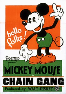<i>The Chain Gang</i> 1930 Mickey Mouse short by Burt Gillett