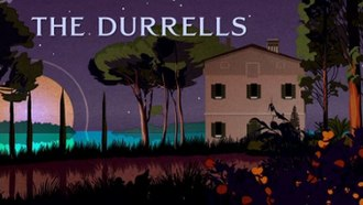 The Durrells - Series 1 title card.