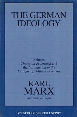 The German Ideology - 1988 Prometheus Book edition
