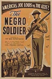 <i>The Negro Soldier</i> 1944 film by Stuart Heisler