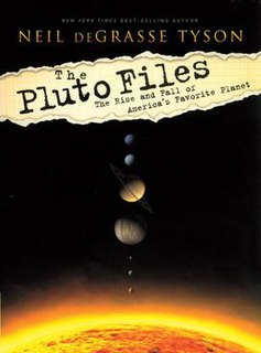 <i>The Pluto Files</i> book by Neil deGrasse Tyson