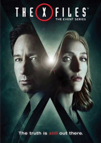The X-Files (season 10) - DVD and Blu-ray cover