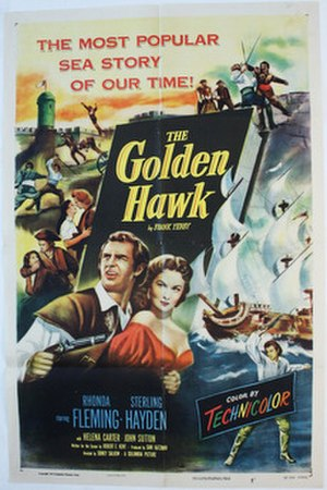 The Golden Hawk - Theatrical release poster