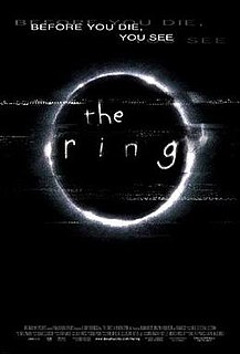 <i>The Ring</i> (2002 film) 2002 film directed by Gore Verbinski