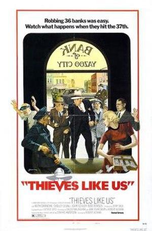 Thieves Like Us (film) - Image: Thieves Like Us Poster