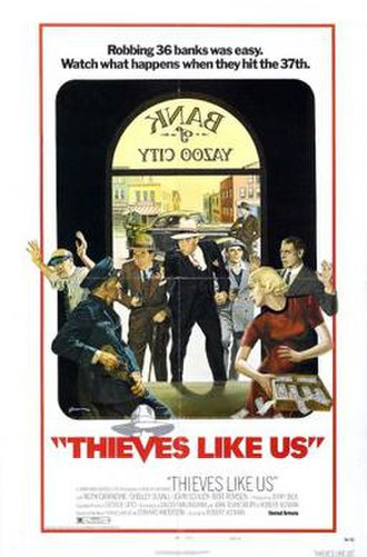 Thieves Like Us (film) - Image: Thieves Like Us Poster