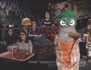 Ed the Sock - This Movie Sucks! as seen in the first episode