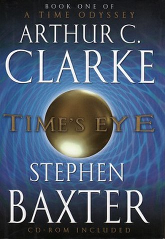 Time's Eye (novel) - Image: Time's Eye baxter 2