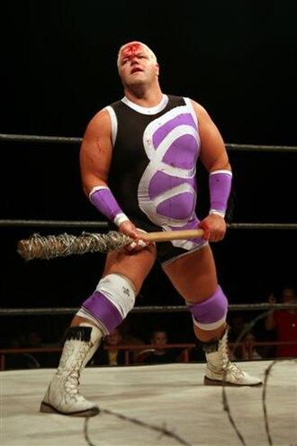 Tornado (wrestler) - Image: Tornado Wrestler Photo 2004 WWP