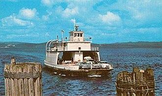Astoria–Megler Bridge - Tourist No. 2, a ferry built in 1924