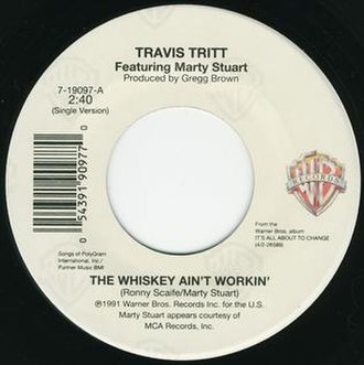 The Whiskey Ain't Workin' - Image: Travis Tritt Whiskey