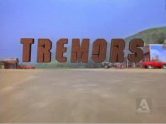 Tremors (TV series) - Tremors title card.