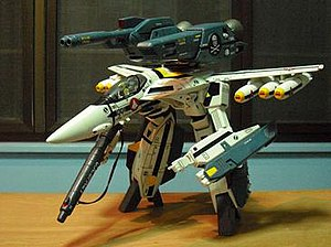 VF-1 Valkyrie - GERWALK mode
