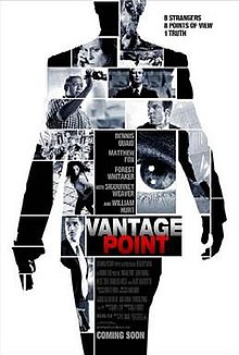 Vantage Point (2008) (In Hindi) - Dennis Quaid, Matthew Fox, Forest Whitaker, William Hurt,  Sigourney Weaver
