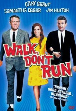 Walk, Don't Run - DVD cover