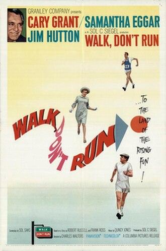 Walk, Don't Run - DVD cover