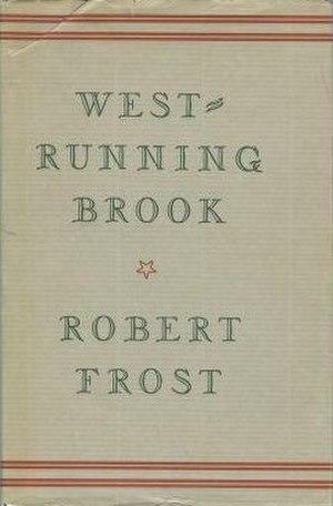 West-Running Brook - First edition